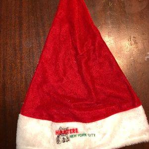 Used Hooters NYC Santa Hat